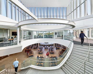 The University of Nottingham, Make Architects completed the Teaching and Learning Building