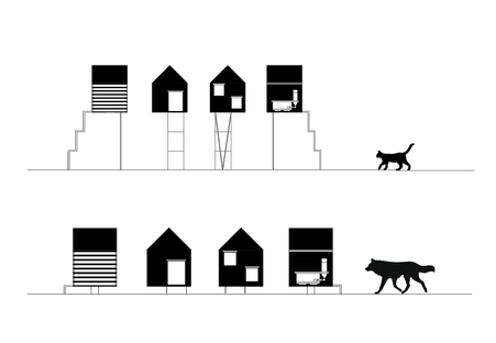 Temporary animal shelter, Natura Futura Arquitectura