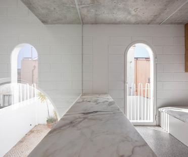 Dodged House by Daniel Zamarbide and Leopold Bianchini