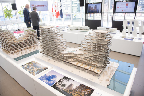 Exhibition Waterfront Architecture: Placemaking and Context by 3XN in Toronto