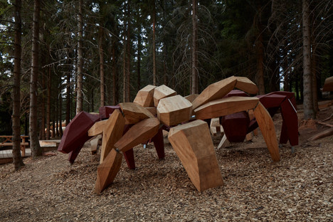 Pecka Playscape, learning while having fun outdoors