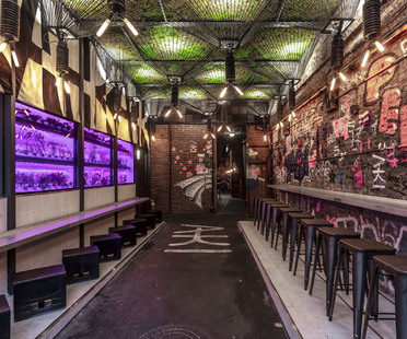 Elyaki, a new venue in Buenos Aires by Hitzig Militello Arquitectos