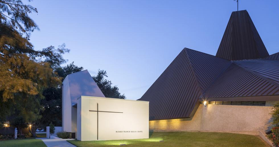 St. Pius Chapel and Prayer Garden by Eskew+Dumez+Ripple