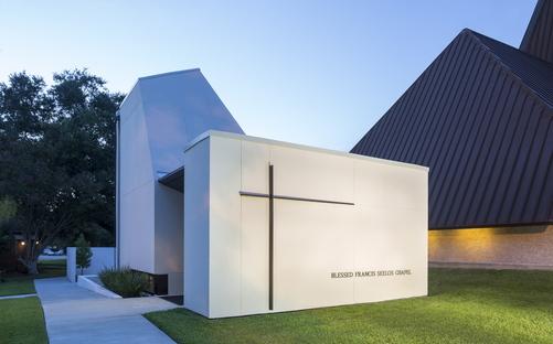 St. Pius Chapel and Prayer Garden by Eskew Dumez Ripple