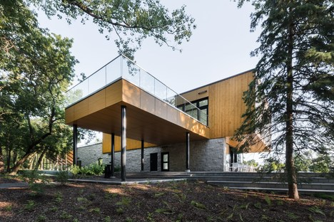 A sustainable pavilion in Montreal