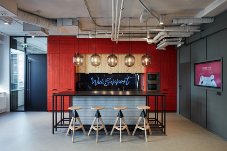 Studio Perspektiv creates new WebSupport interiors in Bratislava