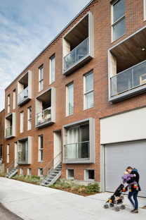 Le Jardinier, sustainable residential complex in Montreal by DHOC