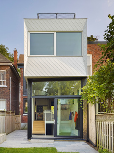 Galley House, an extension of a Victorian home in Toronto