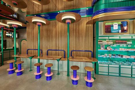 Masquespacio designs the third Kento sushi bar in Valencia