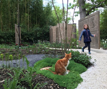 Le Jardin des Portes at the 28th Festival International Garden Festival in Chaumont-sur-Loire