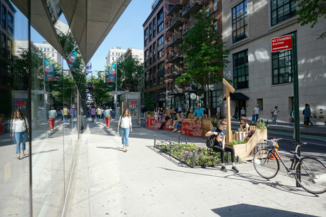 Street Seats 2019, Parsons School of Design is back with its pop-up public space