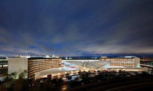 The TWA Flight Center by Saarinen has reopened at JFK Airport, New York