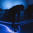Studio Roosegaarde and BMWi, the SYNC interactive landscape premiering at Art Basel 2019