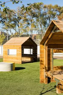 Taktik Design has redesigned the Sainte-Anne schoolyard