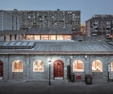 Layering Courtyard in Beijing by ARCHSTUDIO