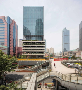 Jacques Ferrier Architecture and Sensual City Studio complete T20 in Xujiahui, China