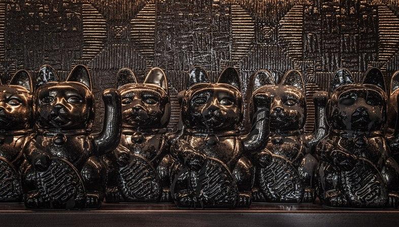 AfroditiKrassa designed Lucky Cat by Gordon Ramsay Restaurants in London
