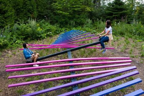 The 20th edition of the International Garden Festival in Grand-Métis