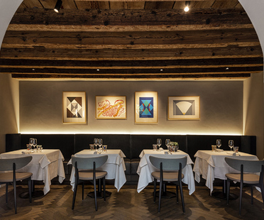Visual Display and the Vitello d'Oro restaurant in Udine