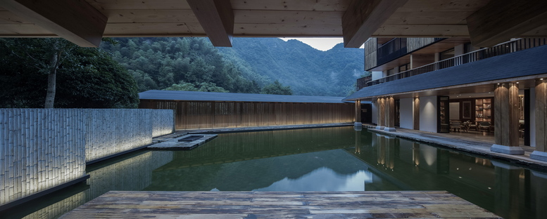 The makeover of the Yule Mountain Boutique Hotel in China