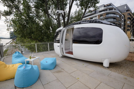 The Ecocapsule micro-home opens to the public in Bratislava