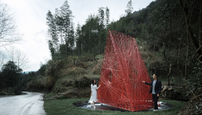 Shrine of Whatslove by Wutopia Lab in Zhejiang
