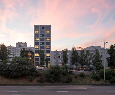 Fort de Vaux, housing project by Petitididierprioux Architectes