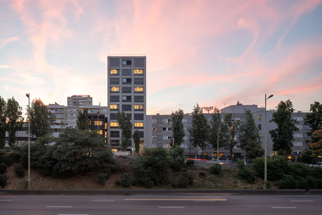 Fort de Vaux, housing project by Petitididierprioux Architectes