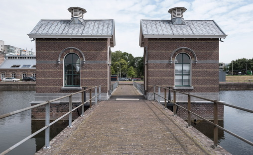 Industrial architecture in Rotterdam, the waterworks