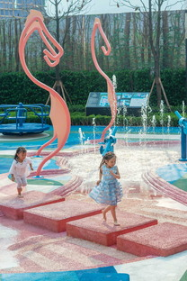 Seahorse, a water park in Chongqing by 100architects
