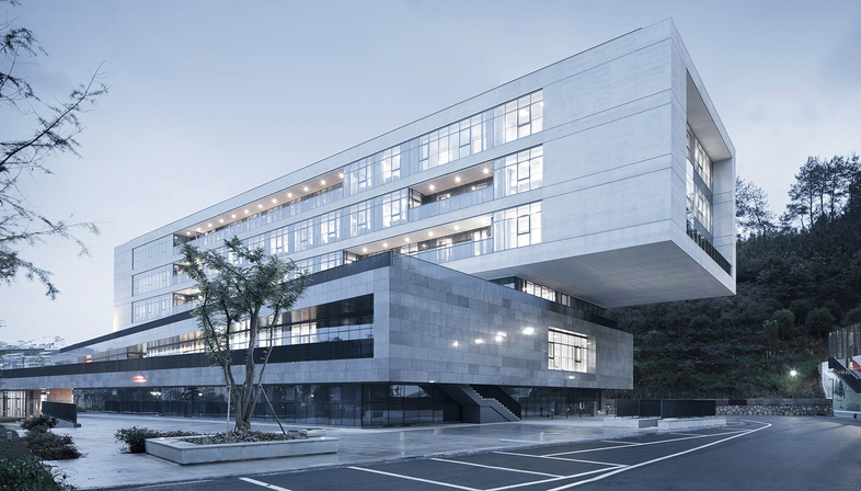 Multipurpose building by UAD in Kaihua County