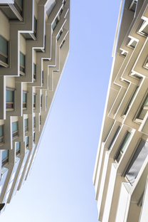 Curial, density housing in Paris, project by Petitdidierprioux