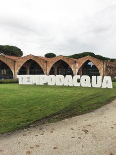 SET Architects with Miruna Dunu at the Pisa Biennale, Tempodacqua