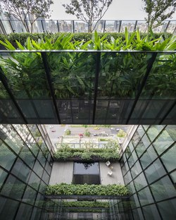 Sky Green, a green tower in Taichung, Taiwan by WOHA