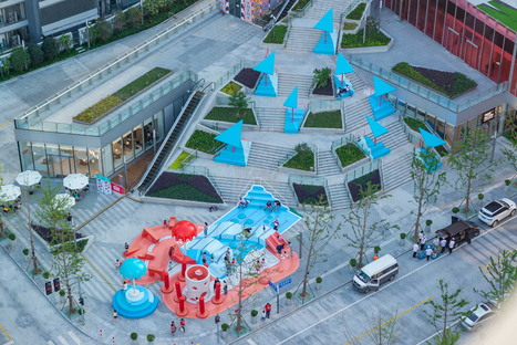 Crystal Pool by 100architects: how to bring alive the public space