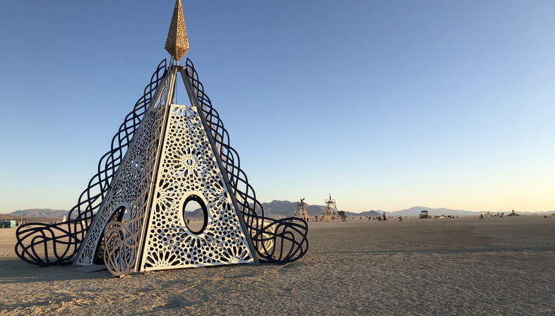 Andromeda Reimagined: A Sanctuary in Deep Playa, John Marx