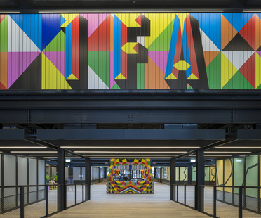 New works by Morag Myerscough for Broadgate, London