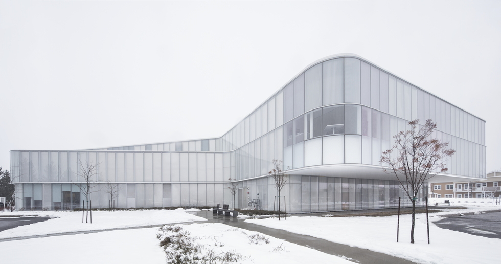 Drummondville Public Library by Chevalier Morales