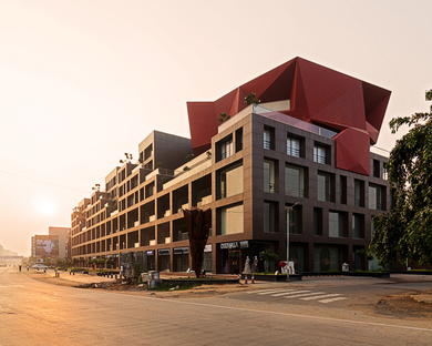 Stellar, a sustainable retail and office building by Sanjay Puri Architects