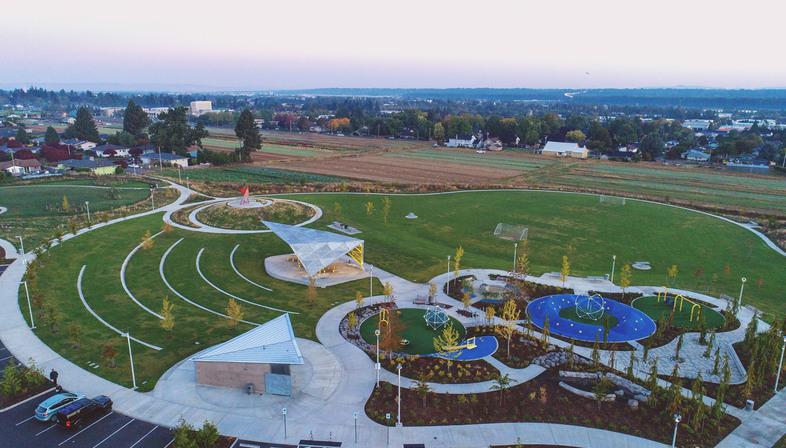 Luuwit Park in Portland, Oregon by Skylab and 2.ink Studio