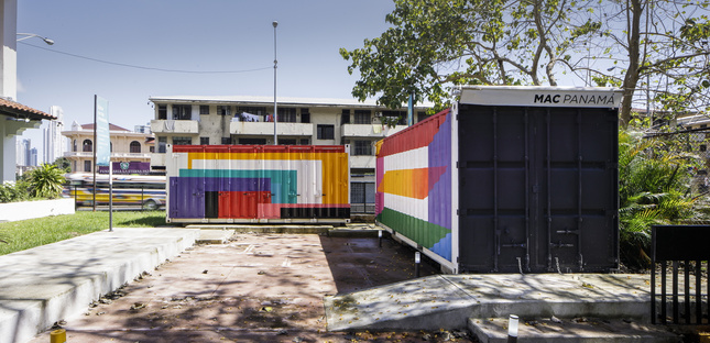 A travelling museum by Héctor Ayarza for the Museum of Contemporary Art in Panama City