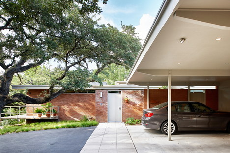 Balcones Residence Austin, renovation by Clayton & Little