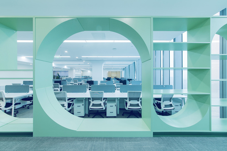 Ruhnn Culture Office by inDeco, environments for influencers