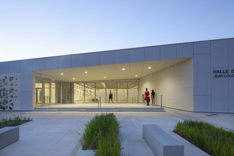 NBJ Architectes, Halles des Sports in Uzès