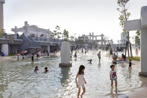 Tainan Spring, an urban lagoon in Taiwan by MVRDV