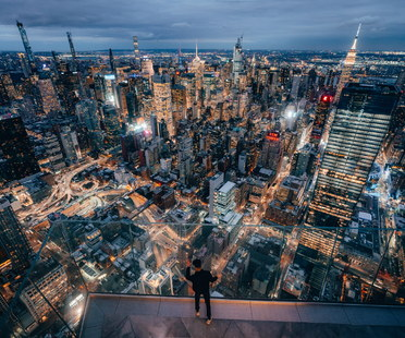 Panoramic views: Edge at Hudson Yards, New York