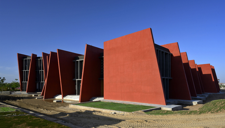Sanjay Puri Architects has designed The Rajasthan School