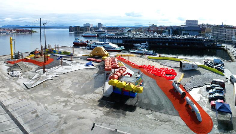 Geoparken in Stavanger, a sustainable and still relevant playground