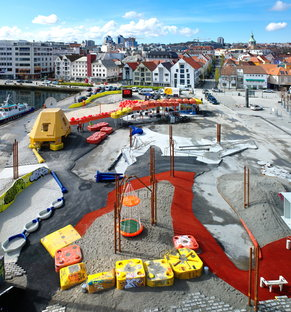 Geoparken in Stavanger, a sustainable and still relevant playground