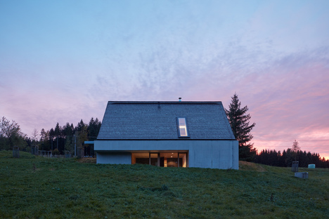 Weekend House by Pavel Míček Architects in the Beskydy Mountains